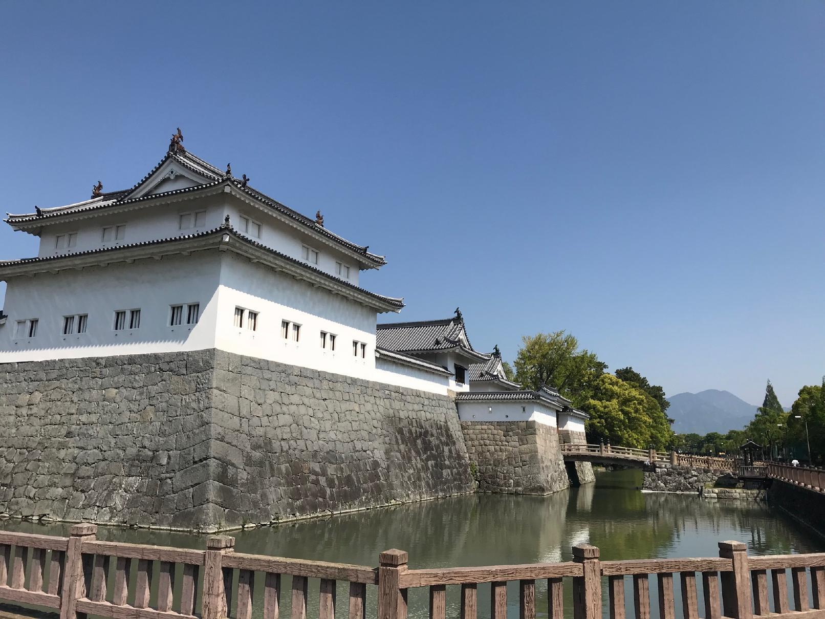 駿府城のお堀